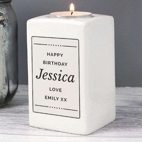 Ceramic Tea Light Candle Holder
